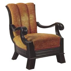 Big Chair Attributed to Otto Prutscher