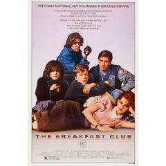 """The Breakfast Club"" Film Poster, 1985"