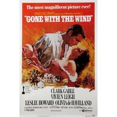 """""""Gone With The Wind"""" Film Poster, 1980"""
