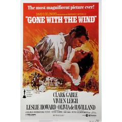 """Gone With The Wind"" Film Poster, 1980"