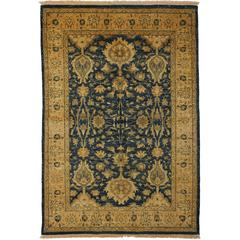 Ottoman, Hand-Knotted Area Rug