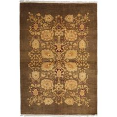 Brown Ottoman Area Rug, Solo Rugs