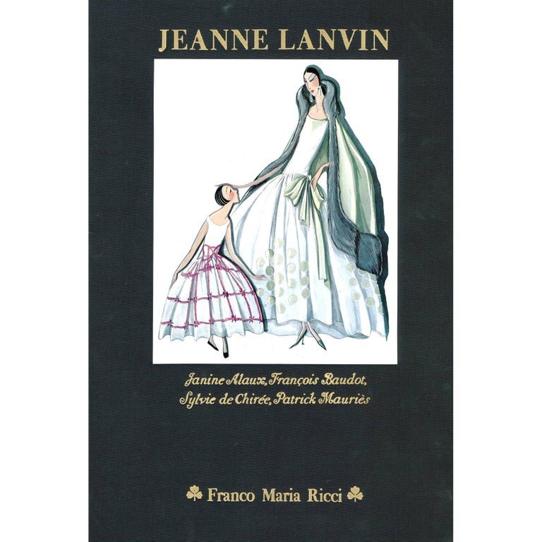 JEANNE LANVIN 'Book' For Sale