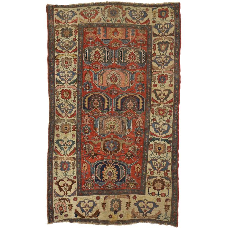 Antique Persian Bijar Rug For Sale At 1stdibs