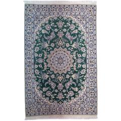 Green Nain Area Rug
