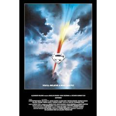 """Superman"" Film Poster, 1978"