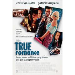 """True Romance"" Film Poster, 1993"