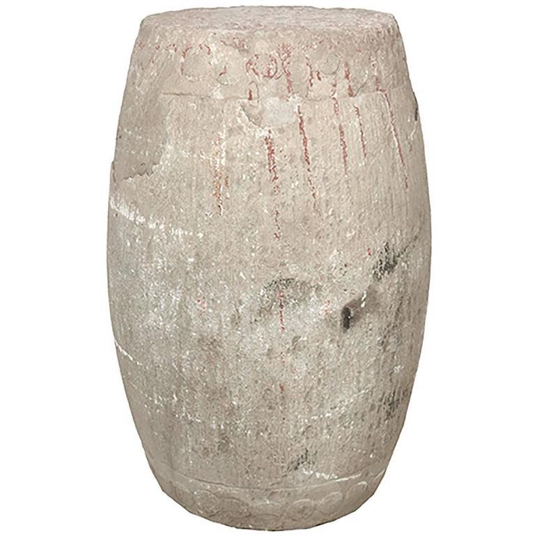 Chinese Limestone Drum Stool