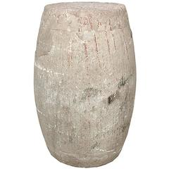Chinese Limestone Drum Stool