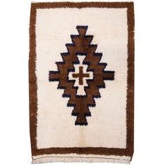 """Early 20th Century Turkish """"Tulu"""" Wool Shag Rug"""
