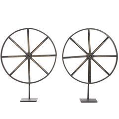 19th Century Wagon Wheels