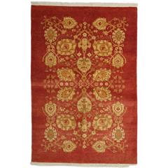 Red Ottoman Area Rug, Solo Rugs