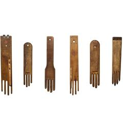 Collection of Antique Glove Stretchers