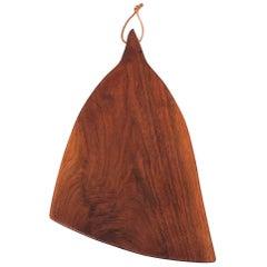 Sculptural Walnut Cutting Board by Dirk Rosse