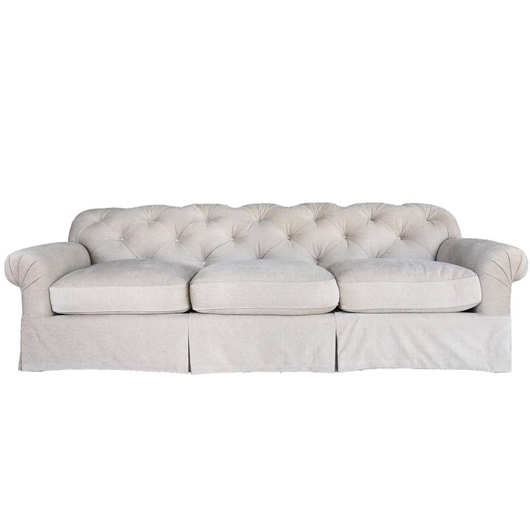 Tufted Chesterfield Style Sofa by Cameron Collection