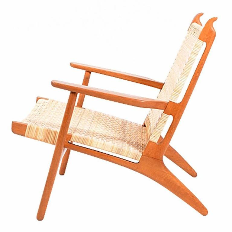 Hans Wegner CH27 Lounge Chair for Carl Hansen 1
