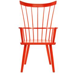 Colt Highback Armchair in Persimmon Stain on Maple by O&G Studio
