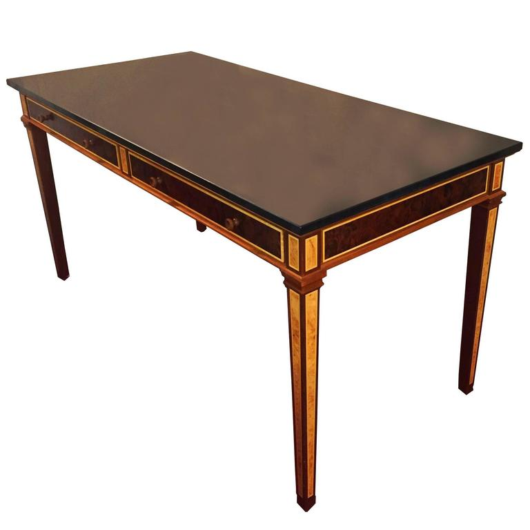 Marble Top Side Table Circa 1980 At 1stdibs