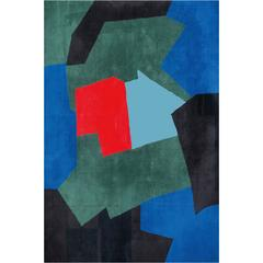 Serge Poliakoff carpet, France