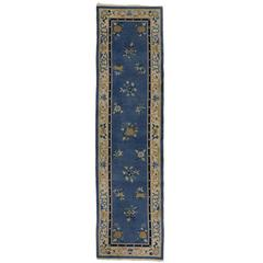 Early 20th Century Antique Chinese Art Deco Carpet Runner