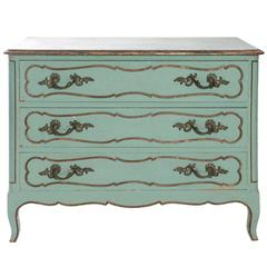 Painted Louis XV Style Commode