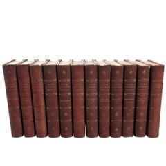 """""""Jane Austen Works"""" 12 Volumes Book"""