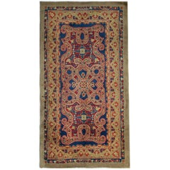 Hand Made Carpet Antique Rugs, Exceptional English Axminster, Art Deco Rugs