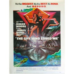 """""""Spy Who Loved Me"""" the Film Poster, 1977"""