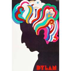 """Bob Dylan"" Film Poster, 1966"