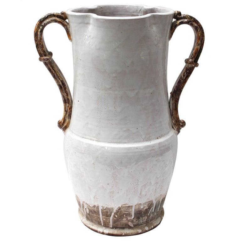 Large Ceramic Vase/ Umbrella Stand