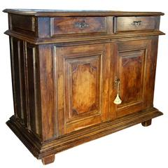 Late 16th Century Italian Tuscan Credenza Solid Walnut