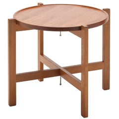 Turning Tray Table AT35 by Hans Wegner for Andreas Tuck