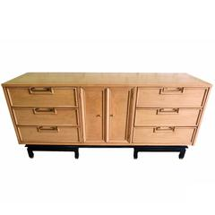 Hollywood Regency Nine-Drawer Dresser by American of Martinsville