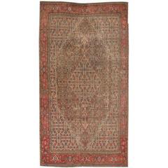 Beautifully Designed Vintage Hamadan Rug