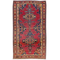 Beautifully Designed Antique Kazak Rug