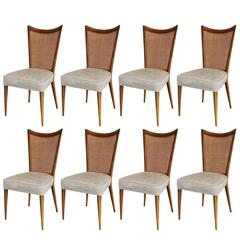 Set of Eight Melchiorre Bega Dining Chairs