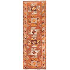 Beautifully Designed Vintage Persian Rug