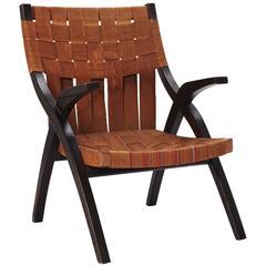 Vintage Basket Woven Chair