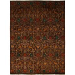 Brown Ottoman Area Rug Solo Rugs