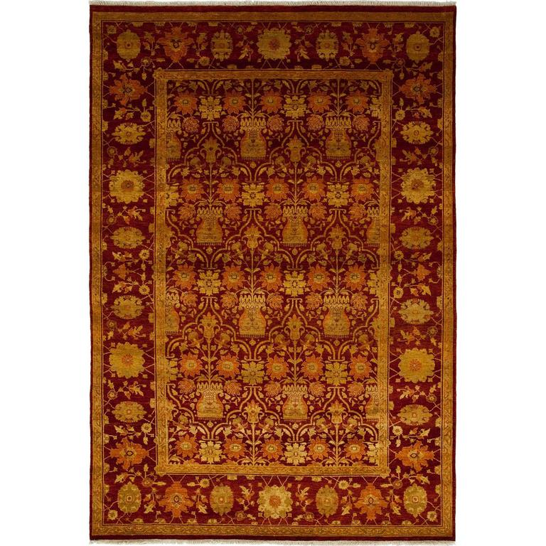 Red Ottoman Area Rug Solo Rugs For Sale At 1stdibs