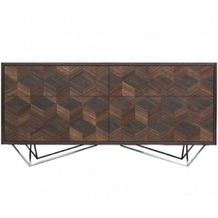 Smoked Oak Sideboard by Meiwood Furniture
