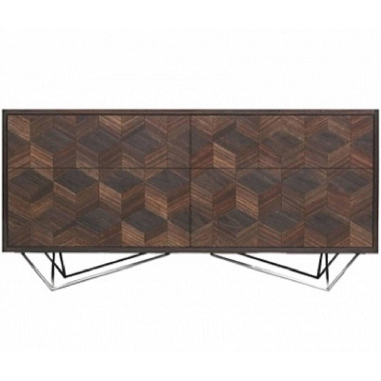 Handmade Scorched Shake Sideboard Cabinet by Sebastian Cox ...