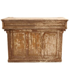 19th Century French Magasin Counter