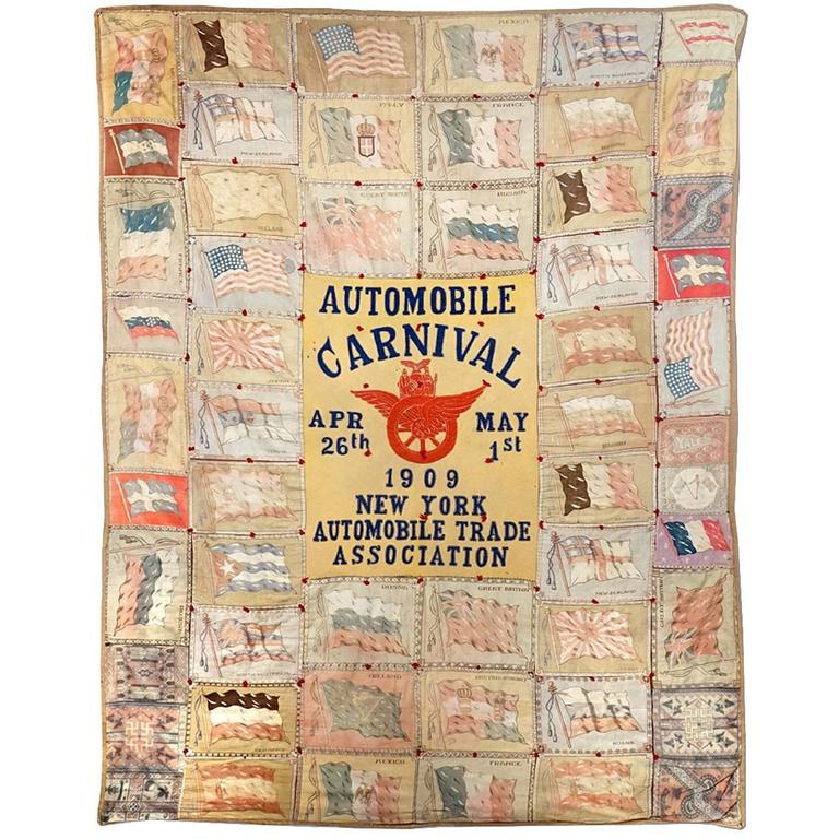 1909 International Automobile Show Quilt 1