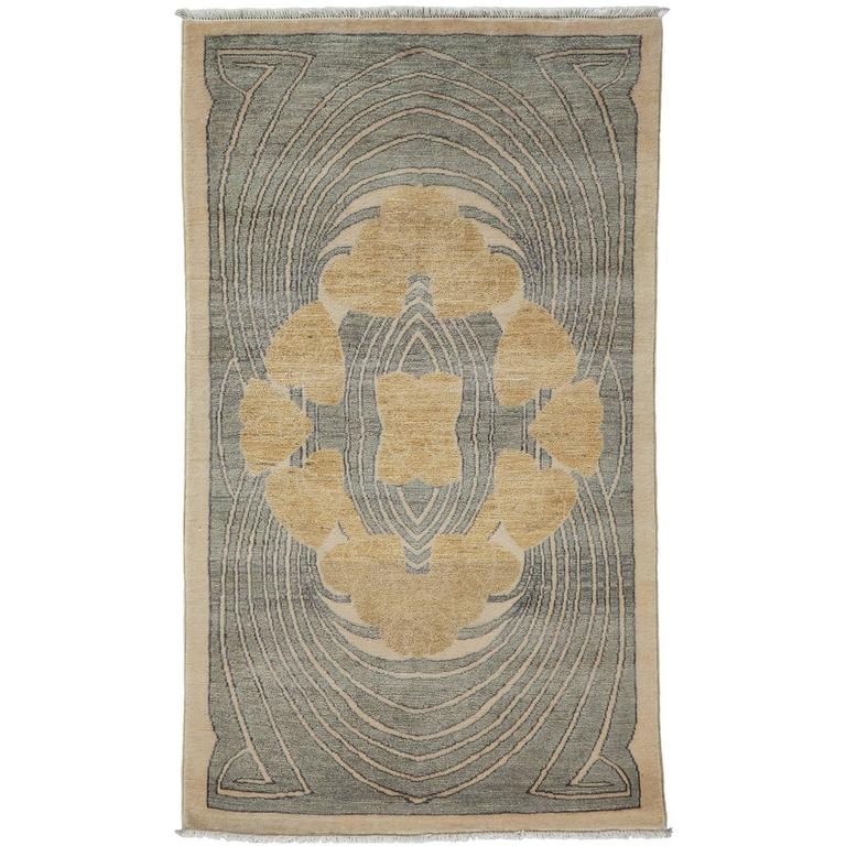 Oushak Rugs For Sale: Gray Oushak Area Rug, Solo Rugs For Sale At 1stdibs