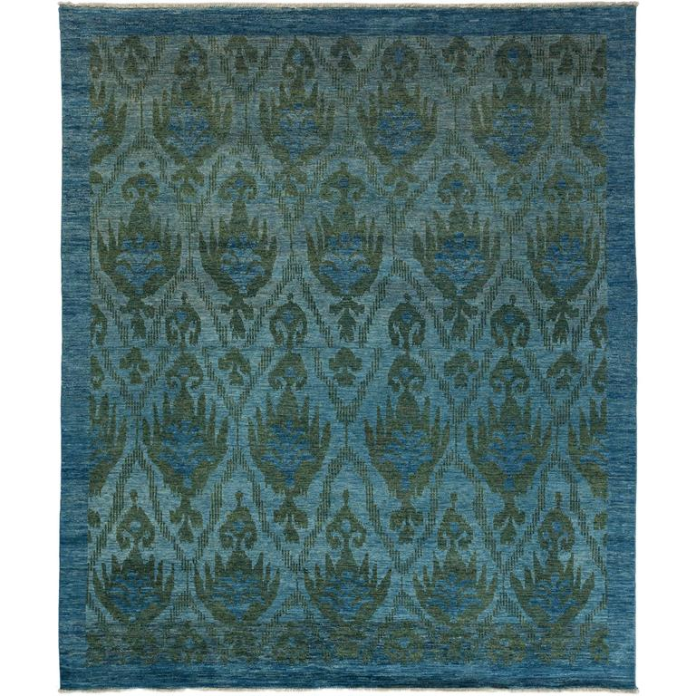 Oushak Rugs For Sale: Blue Oushak Area Rug, Solo Rugs For Sale At 1stdibs