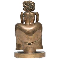 """Miguel Berrocal Sculpture """"La Menina II"""""""
