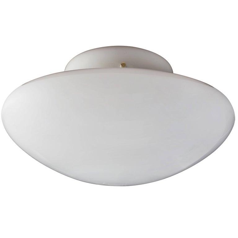 Mid-Century Modern Large Sergio Mazza 'Magnolia' Ceiling Lamp for Quattrifolio, circa 1971 For Sale