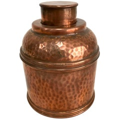Hammered Copper Vintage Humidor