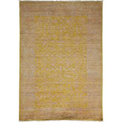 Yellow Oushak Area Rug, Solo Rugs